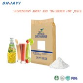 suspending agent and thickener for juice