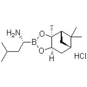 (<em>R</em>)-1-Amino-3-methylbutylboronic <em>acid</em> pinanediol ester hydrochloride