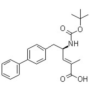 (2E,4R)-5-[1,1'-Biphenyl]-4-yl-4-[[(1,1-dimethylethoxy)carbonyl]amino]-2-methyl-2-pentenoic acid