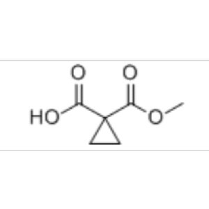 1,1-Cyclopropanedicarboxylic acid <em>monomethyl</em> ester