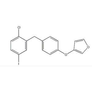 (3S)-3-[4-[(2-Chloro-5-iodophenyl)methyl]phenoxy]tetrahydro-furan