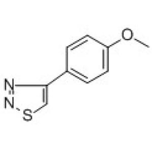 4-(<em>4-Methoxyphenyl</em>)-1,2,3-thiadiazole