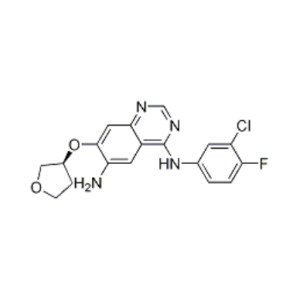 (S)-N4-(3-chloro-4-fluorophenyl)-7-(tetrahydrofuran-3-yloxy)quinazoline-4,6-diaMine