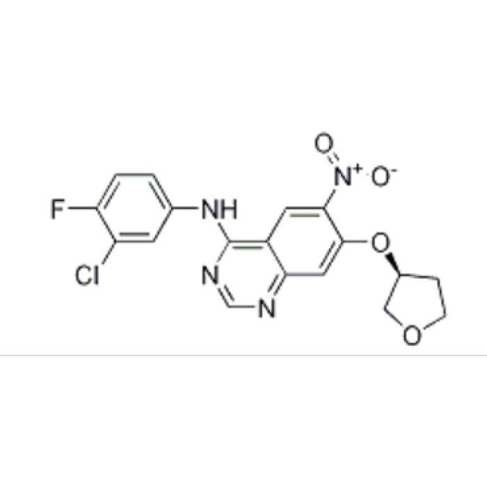 4-QuinazolinaMine, N-(3-chloro-4-fluorophenyl)-6-nitro-7-[[(3S)-tetrahydro-3-furanyl]oxy]-