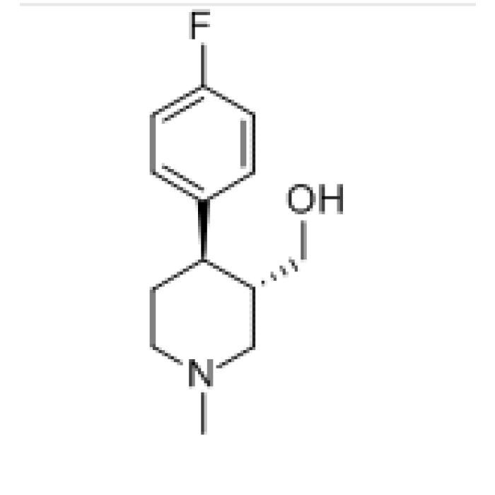 Trans-(-)-4-(4-Fluorophenyl)-1-Methyl-3-Piperidine Methanol