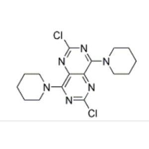 2,6-dichloro-4,8-dipiperidinopyrimido[5,4-d]pyrimidine