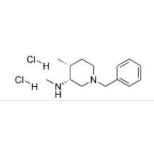 CIS-N-BENZYL-3-METHYLAMINO-4-METHYL-PIPERIDINE <em>BIS-</em>(HYDROCHLORIDE)