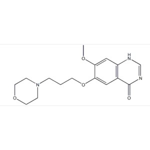 7-Methoxy-6-(3-morpholin-4-ylpropoxy)quinazolin-4(3H)-one