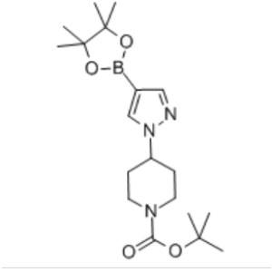 tert-Butyl 4-[4-(4,4,5,5-tetramethyl-1,3,2-dioxaborolan-2-yl)-1H-pyrazol-1-yl]piperidine-1-carboxylate