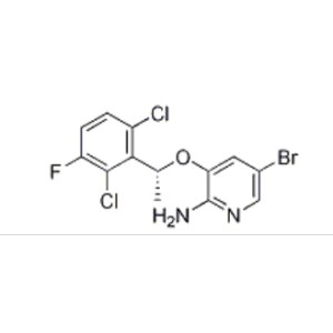 (R)-5-bromo-3-(1-(2,6-dichloro-3-fluorophenyl)ethoxy)pyridin-2-amine