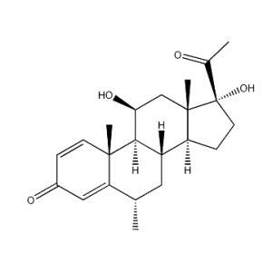11beta,17alpha-Dihydroxy-6alpha-methylpregna-1,4-diene-3,<em>20-dione</em>