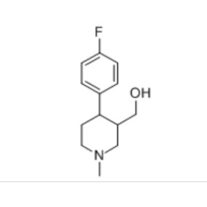 (±)trans-4-(4-fluorophenyl)-3-hydroxymethyl-1-methyl piperidine