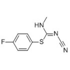 1-Cyano-2-(<em>4-fluorophenyl</em>)-3-methylisothiourea