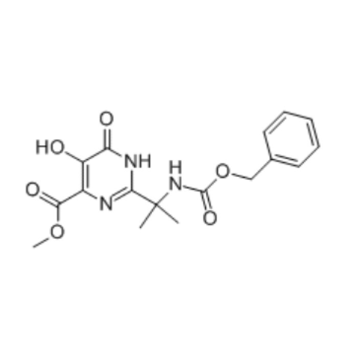 Methyl 2-(2-(((benzyloxy)carbonyl)aMino)propan-2-yl)-5- hydroxy-6-oxo-1,6-dihydropyriMidine-4-carboxylate