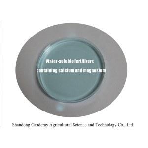 Water-soluble fertilizer comtaining calcium and magnesium