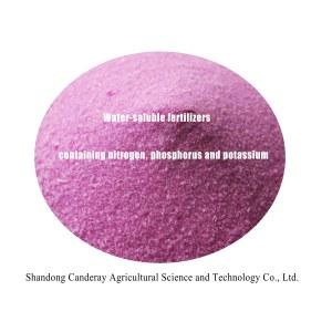 Water-soluble fertilizer comtaining nitrogen,phosphorus and potassium