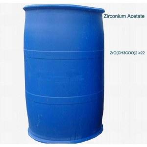 <em>zirconium</em> acetate