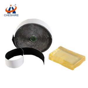 Cheshire high quality hot melt adhesive glue for hook loop tape self adhesive tape
