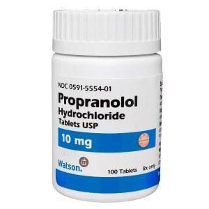 propranolol hcl
