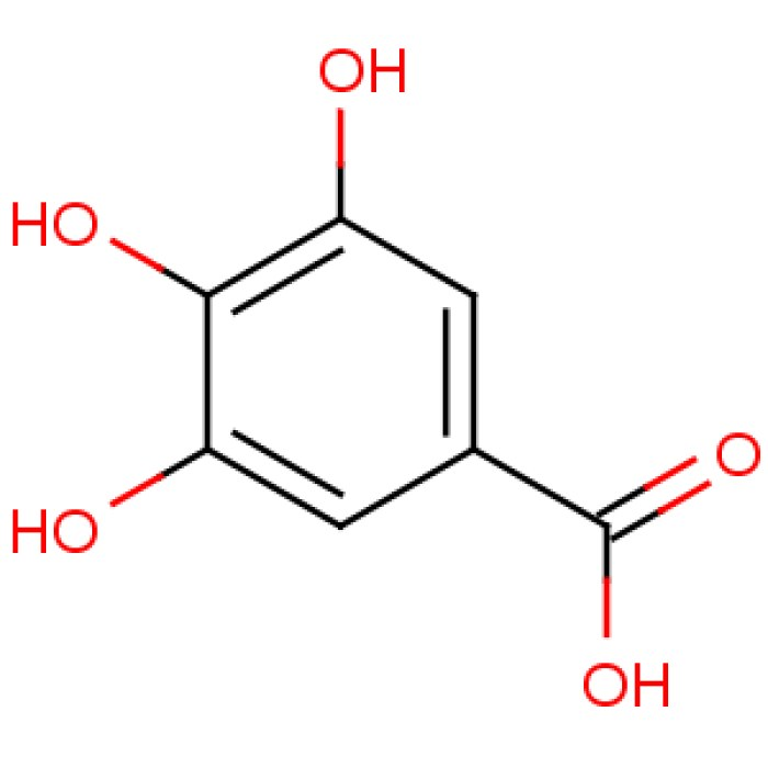 API Raw Material Gallic Acid / 3, 4, 5-Trihydroxybenzoic Acid CAS 149-91-7 White Powder with Best Price and Fast Delivery