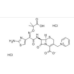 ]-2-carboxy-8-oxo-5-thia-1-azabicyclo[4.<em>2</em>.0]oct-2-en-3-yl]methyl]pyridinium <em>chloride</em> monohydrochloride