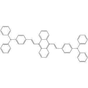 (<em>E</em>,<em>E</em>)<em>-4</em>,<em>4</em>'-(9,10-Anthracenediyldi-2,1-ethenediyl)bis[N,N-diphenylbenzenamine]