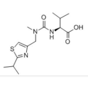 (<em>S</em>)-2-(3-((2-Isopropylthiazol-4-yl)methyl)-3-methylureido)-3-methylbutanoic <em>acid</em>