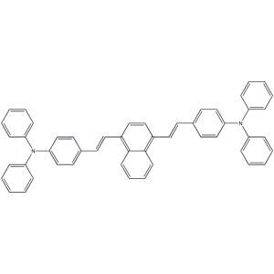 4,4'-[1,4-Naphthalenediyldi-(1E)-2,1-ethenediyl]bis[N,N-diphenylbenzenamine]