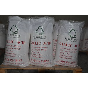 Natural Gallnut Extract 99% Gallic <em>Acid</em> powder CAS 149-91-7