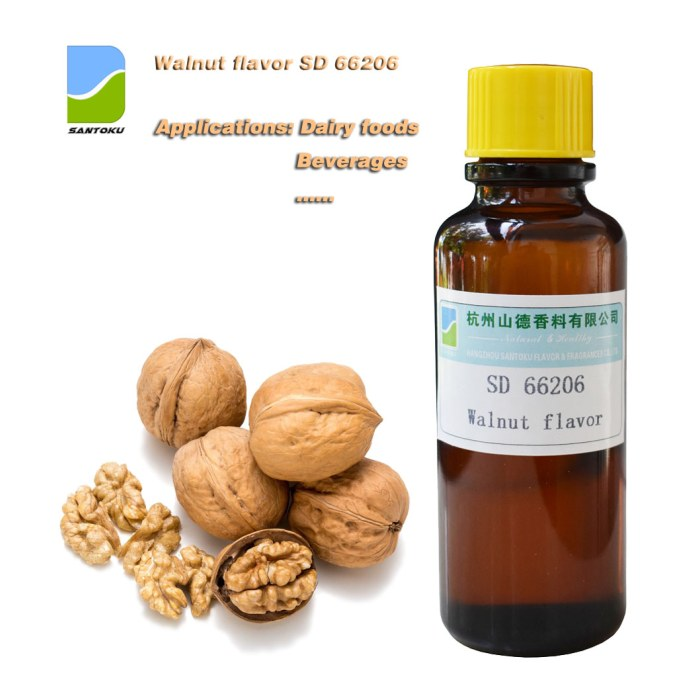 Walnut concentrated flavor SD 66206 low dosage