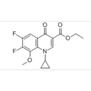 1-Cyclopropyl-6,7-difluoro-1,4-dihydro-8-methoxy-4-oxo-3-quinolinecarboxylic acid ethyl ester