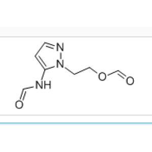 5-Formamide-1-(2-formyloxyethl)pyrazole