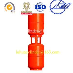 Refilling portable restaurant LPG gas cylinder