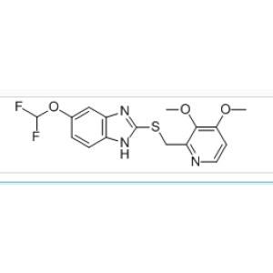 5-Difluoromethoxy-2-{[(<em>3</em>,4-dimethoxy-2-pyridinyl)<em>methyl</em>]thio}-1H-benzimidazole