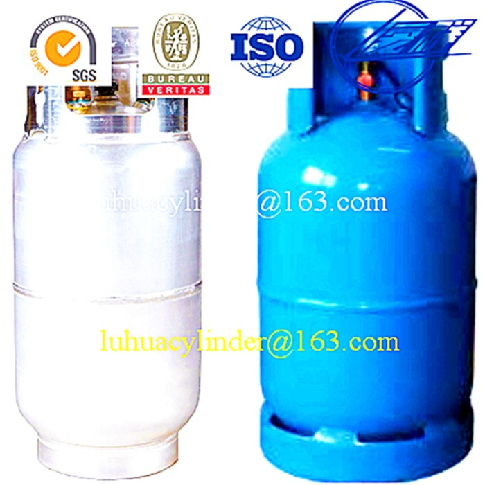 PORTABLE LPG gas cylinder