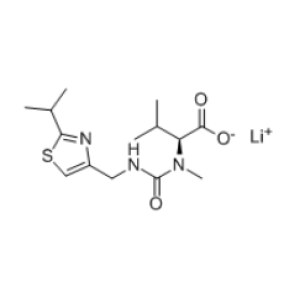 N-[N-methyl-N-((2-isopropyl-4-thiazolyl)methyl)amino)carbonyl]-L-valine,Lithium Salt