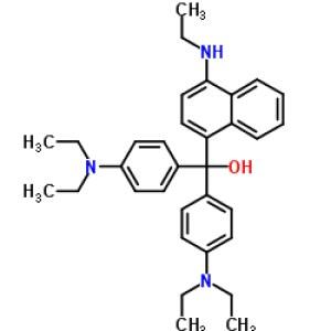 bis[4-(diethylamino)phenyl]-[4-(ethylamino)naphthalen-1-yl]<em>methanol</em>