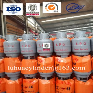 Refilling household LPG gas cylinder