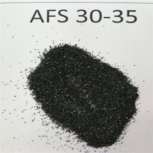 46% Cr2O3 Chromite sand/Chrime ore sand from south Africa as ladle filler sand