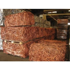 99.99purity Copper Scrap wire bars, Metals Scrap.