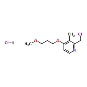 2-Chloromethyl-3-Methyl-4-(3-Methoxypropoxy)<em>Pyridine</em> Hydrochloride
