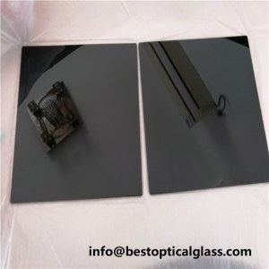 black ultraviolet glass