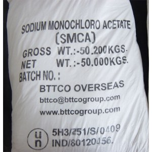 Price of  Sodium Mono Chloro Acetate in India