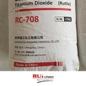 Ruichem RC 708 White TiO2 Rutile Titanium Dioxide for General Purpose
