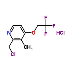 2-Chloromethyl-3-methyl-4-(<em>2</em>,<em>2</em>,2-trifluoroethoxy)<em>pyridine</em> hydrochloride