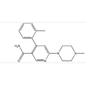 6-(4-Methylpiperazin-1-yl)-4-(2-methylphenyl)nicotinamide