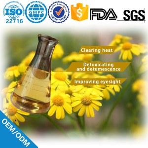 Wild chrysanthemum flower oil