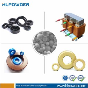 China soft magnetic powder for powder core