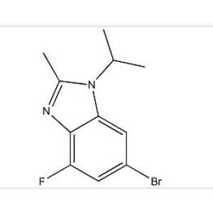 6-Bromo-4-fluoro-1-isopropyl-2-methyl-1H-benzo[d]imidazole
