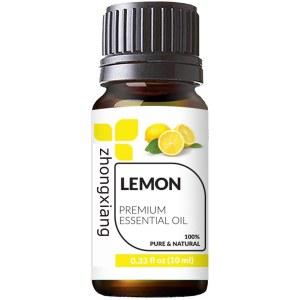 Manufacturer supply OEM 100% pure therapeutic grade <em>lemon</em> essential oil in bulk price